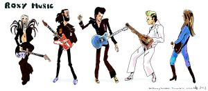 Roxy Music by AnthonyHolden