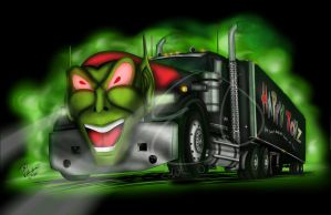 Maximum Overdrive Goblin Truck by Lady-ElitaOne