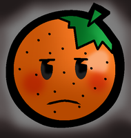 A Miserable Orange by Miserable-in-Orange