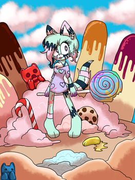 .:CM:.Horror in Candyland by Yukidog674