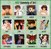 2012 Summary of art by sam-ely-ember