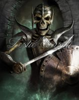 Skeleton Warrior by Enchantress-LeLe