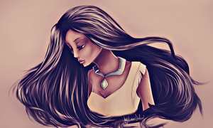 Pocahontas by LeaValeri