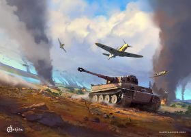 Tiger War Thunder by FotoN-3