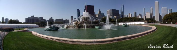 Buckingham Fountain by thejessicablack