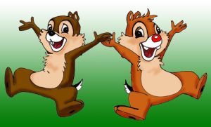 Chip and Dale by danidarko96