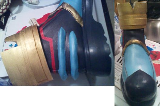 Ventus shoes 97% complete by HylianArtist