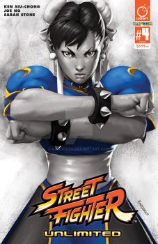 STREET FIGHTER UNLIMITED #4 Cover D Incentive by Kandoken