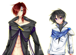 Kyros and Xander by AngelicsMana