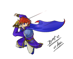 Eliwood Colored by Mercurian