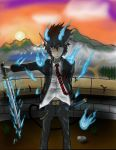 Rin Okumura - My Collab with Taz (dragrider1) by drcohen94