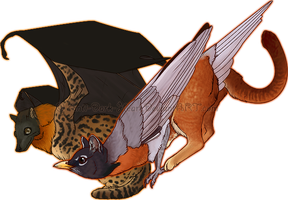 Gryphon Designs - Commission by Anti-Dark-Heart