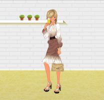 Cocktail Summer Dress Fashion by Brandee-Ssj-Doll
