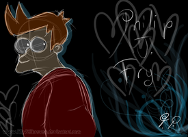 Philip J. Fry by LillayFran