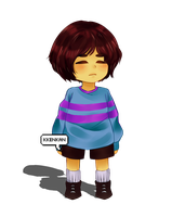 Undertale: Frisk by kKenKan