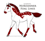 A1975 Nordanner Foal Design by TheMs0kitty