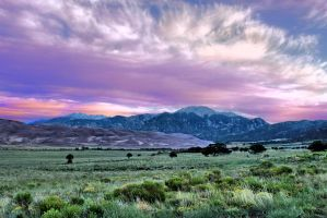 Dawn At The Great Sand Dunes, Colorado by MtnMama