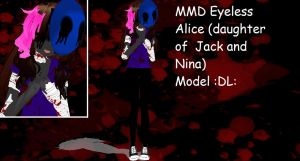 MMD Eyeless Alice model :DL: by mokathekiller