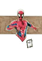 Spiderman Markers by Rexbegonia