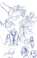 Scribbles of Alchemists by Robaato