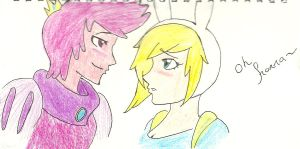 Prince G and Fionna by 15xSuaveTempestx21