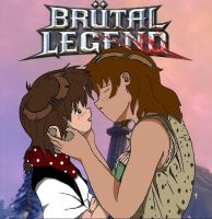 Jen and Elliott - Brutal Legend OC characters by Rin4