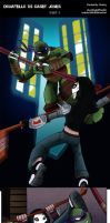 Donatello VS Casey Jones PART 3 by TurboTails06