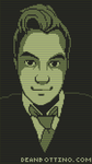 Pixel Self Portrait - Metal Gear Solid Codec Style by FrootsyCollins
