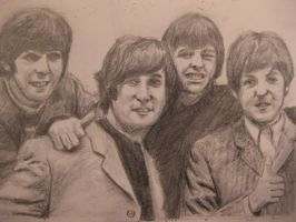 The Beatles by chitraah