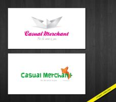Casual Merchant logo II by anca-v