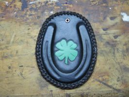 Lucky Horseshoe by FattDaddyLeather