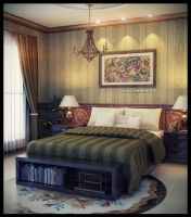 master bedroom by jaxpc