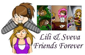 Lili and Sve - Friends Forever by Lilixilon