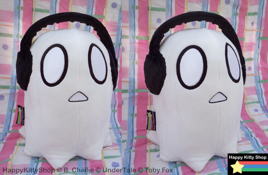 Napstablook Plush by QueenBeePlush