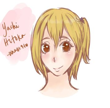 Yachi Hitoka by MoonLightSadness10