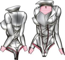Body Suit by LessRuth