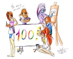 The 100st Art! by Katlin-Kloss