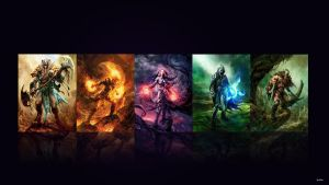 planeswalkers wallpaper by PitoDaBest