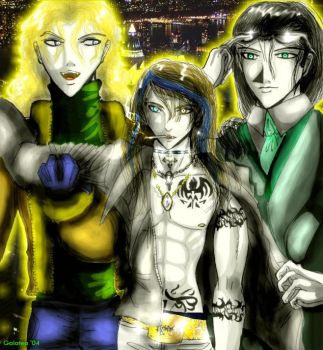 Lestat, Alois and Louis by Galatea-DNegro