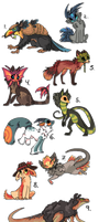 Lots of designs sOLD part 3 by griffsnuff