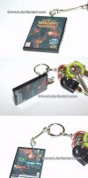 World of Warcraft Cataclysm (PC) Keychain by Drevart