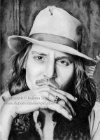 Johnny Depp 04 by Ilojleen
