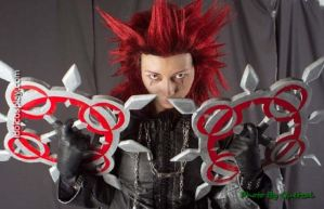 B-Shira cosplay Axel kingdom by Neko-kenky