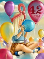 42USA Balloons by cry-ky