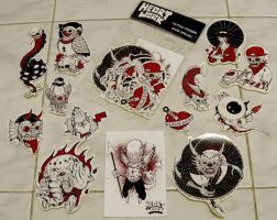 heARTwork tattoo sticker pack special by azridjokoloro