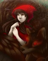 Red and the Wolf by Nintala