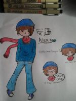Allen Deizu by SHSL-Game-Designer
