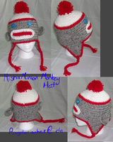 Crochet Hat: Misha Minion Sock Money Hat by PurgatorianHeir