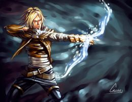Ezreal Magic by ChiakiNeko