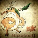 Mazacoatl Mexican horned dragon. by ah-puch-zegno